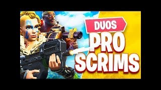 Pro Duo Scrims With Baqn (Fortnite Battle Royale)