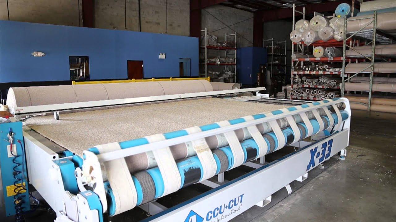 Accucut X 33 Carpet Cutting Machine Www