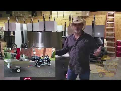 Cash Cow Hot Dog Cart