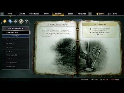 Carte Au Tresor Sans Fermer Loeil.Tresor Les Rameurs De Njord God Of War 4