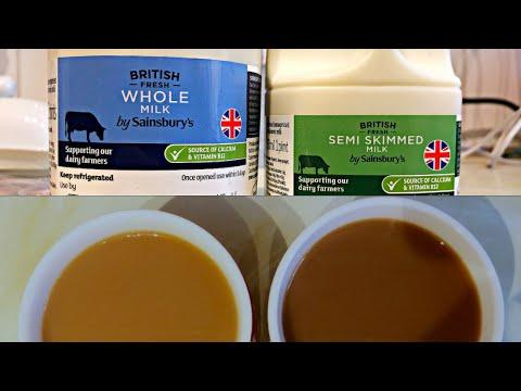Whole Milk vs Low Fat Milk in Coffee