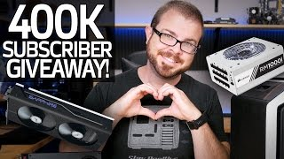 Thanks For 400K Subscriber Giveaway!!