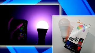 Smart żarówka LED E27 RGB 6W ze sterowaniem Bluetooth RGB Dotyczy lamp IOS