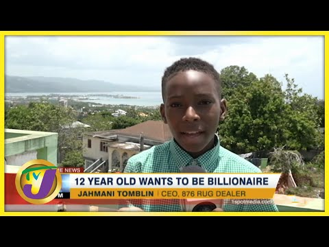 12 Yr Old Jamaican Boy Wants to be a Billionaire | TVJ News - July 19 2021