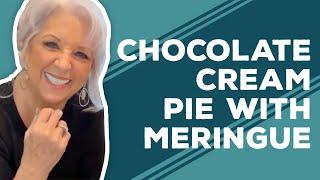 Quarantine Cooking - Chocolate Cream Pie with Meringue