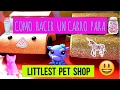 COMO HACER UNA CARRO PARA LITTLEST PET SHOP - DIY Numero 15 ???