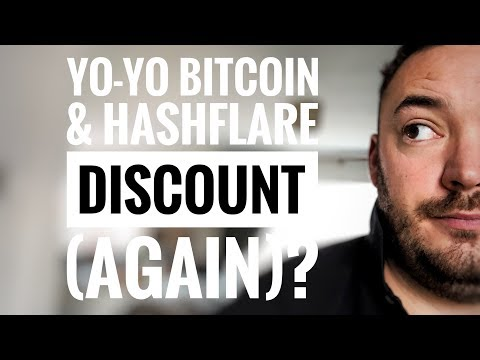 Yo-Yo bitcoin price & hashflare discount (again)
