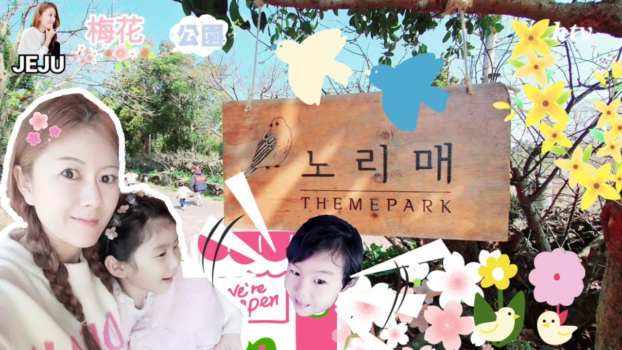 🇰🇷# No corona 🌴Jeju Island #Korea Travel❤️#노리매공원(梅花公园)