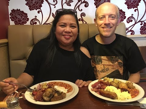 UK Vlog 267 toby carvery family breakfast