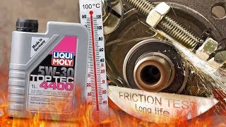 Liqui Moly top tec 4400 5W30 Jak skutecznie olej chroni silnik? 100°C