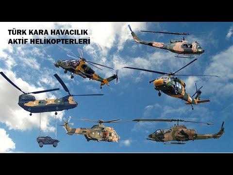 TSK ,Türk Kara Kuvvetleri Aktif Helikopterleri 2020