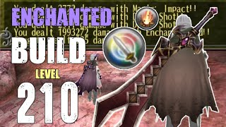 Best DPS Skills for THS - Enchanted Sword Build Lv.210 - Toram Online