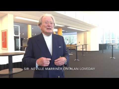 Sir Neville Marriner talks about Alan Loveday