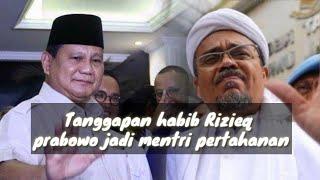 Habib rizieq terbaru !!! ceramah soal gabungnya prabowo ke kubu pemerintahan