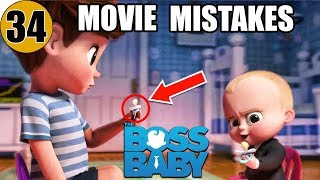 34 Mistakes of THE BOSS BABY You Didn