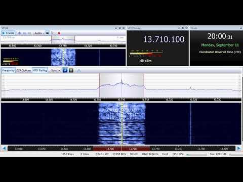 11 09 2017 Madagascar World Voice, Radio Feda in Arabic to ME 2000 on 13710 Mahajanga tx#1