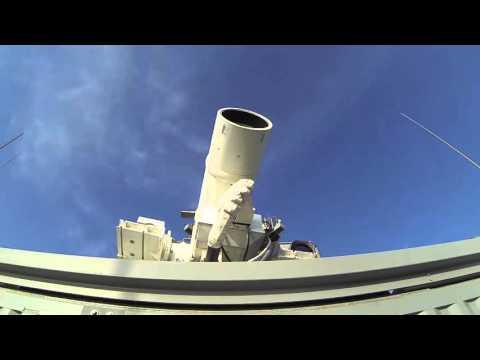 הצי האמריקאי בודק קרן לייזר כנשק