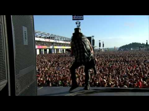 Slash & Myles Kennedy –  Back From Cali Live [HD] Rock am Ring 2010