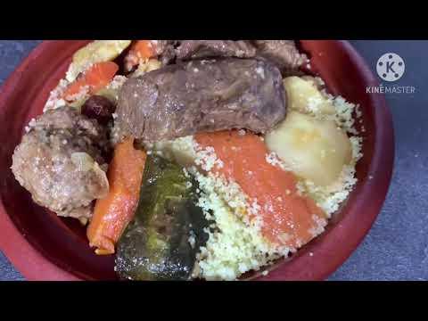 couscous-boulettes-kefta-et-bœuf-au-cookeo