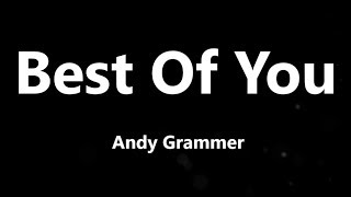 Download Lagu Andy Grammer - Best Of You MP3