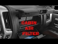 2014-2017 GMC Sierra/Chevy Silverado Cabin Air Filter Replacement Video