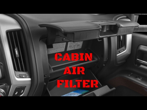 GMC Sierra/Chevy Silverado Cabin Air Filter Replacement (2014-2019)