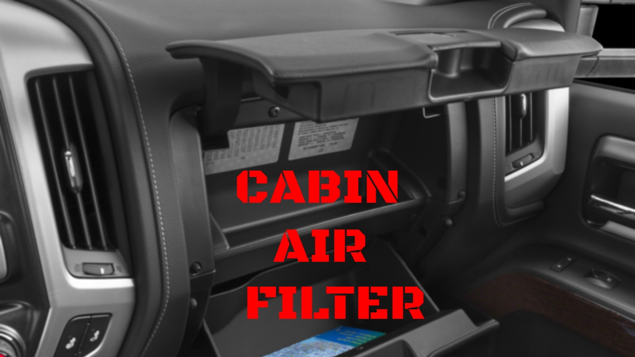 2014 2018 Gmc Sierra Chevy Silverado Cabin Air Filter