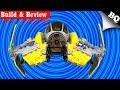 LEGO Jedi Interceptor 75038 Star Wars Build & Review - BrickQueen