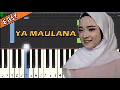 Nissa Sabyan Ya Maulana Piano String Tutorial Easy Simple Youtube