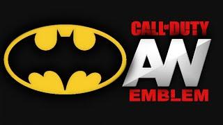 Advanced Warfare - BATMAN-Logo - Emblem Tutorial COD AW Screetch2009