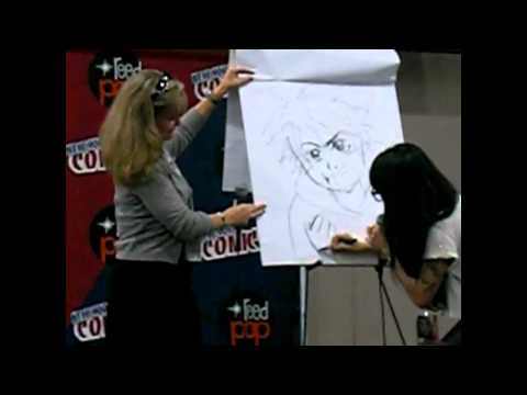 NYCC 2012 - Veronica Taylor & Misako Rocks - ANIMATE IT!