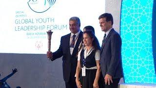Xüsusi Olimpiya Hərəkatı Gənc Liderlərin 20-ci Qlobal Forumunun açılış mərasimi  24 09 2018
