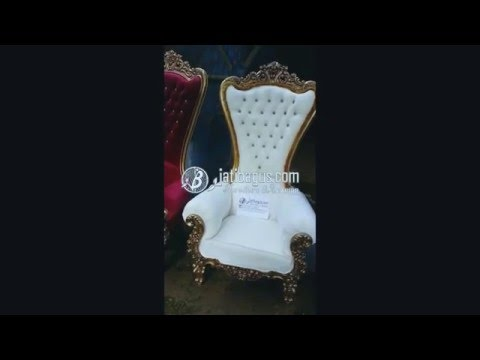 Queen Chair Baroque Fabulous & Absolom Roche French