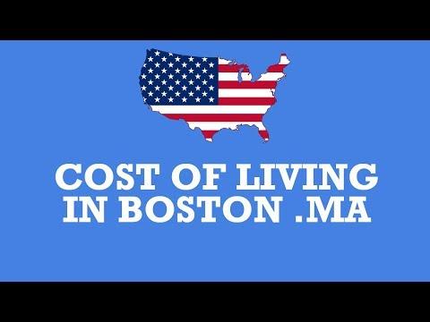 cost of living in boston Massachusetts