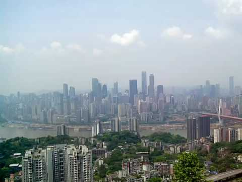 Chongqing, China, view from YiKe Shu