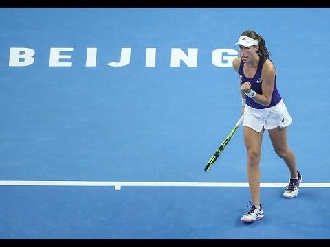 2016 China Open Semifinals | Johanna Konta vs Madison Keys | WTA Highlights