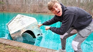 METAL BOX FORT ON WATER!! (SINK OR FLOAT?)