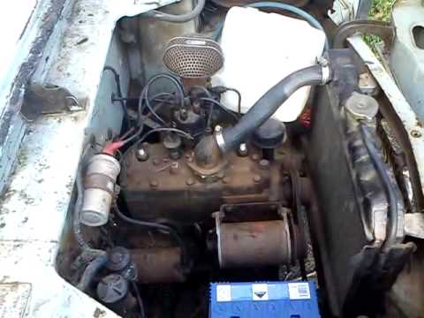 1956 Ford Prefect 100e running  YouTube