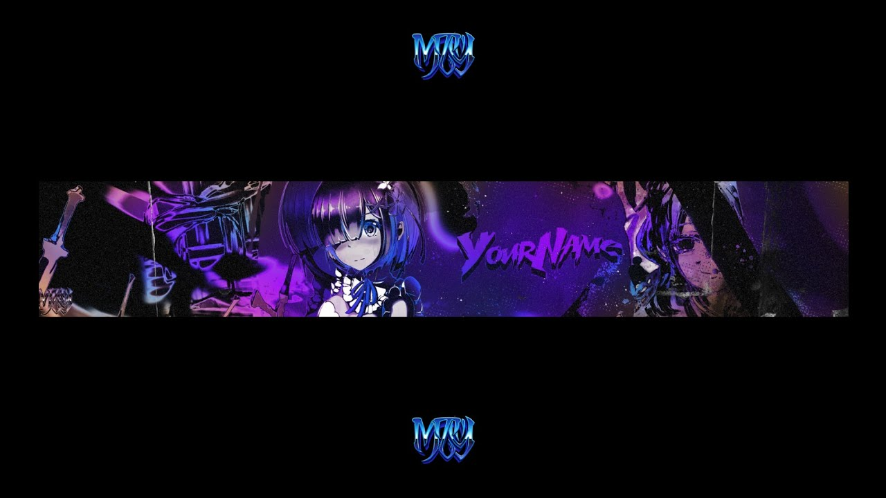 Free Anime Youtube Banner Most Advanced Photoshop Youtube