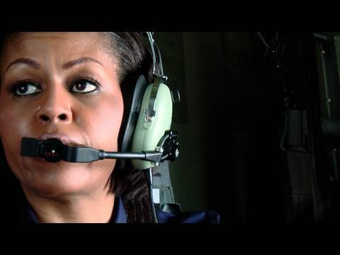 First Lady Michelle Obama in Haiti