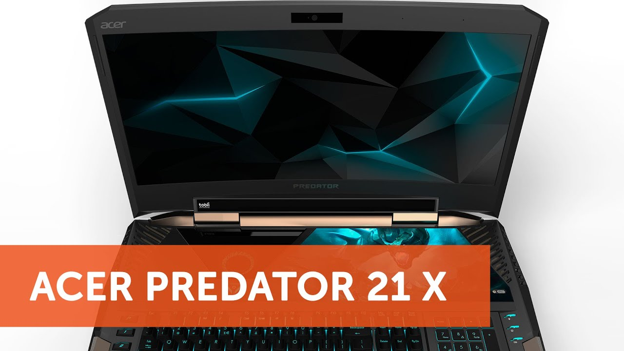 Acer Predator 21 X: самый мощный ноутбук в мире - YouTube
