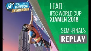 The final #IFSCwc of the 2018 season, see how the Lead grand finale...