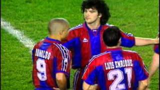 Barcelona 5 - Atlético de Madrid 4 (Vuelta Cuartos de Final Copa del Rey 96/97)