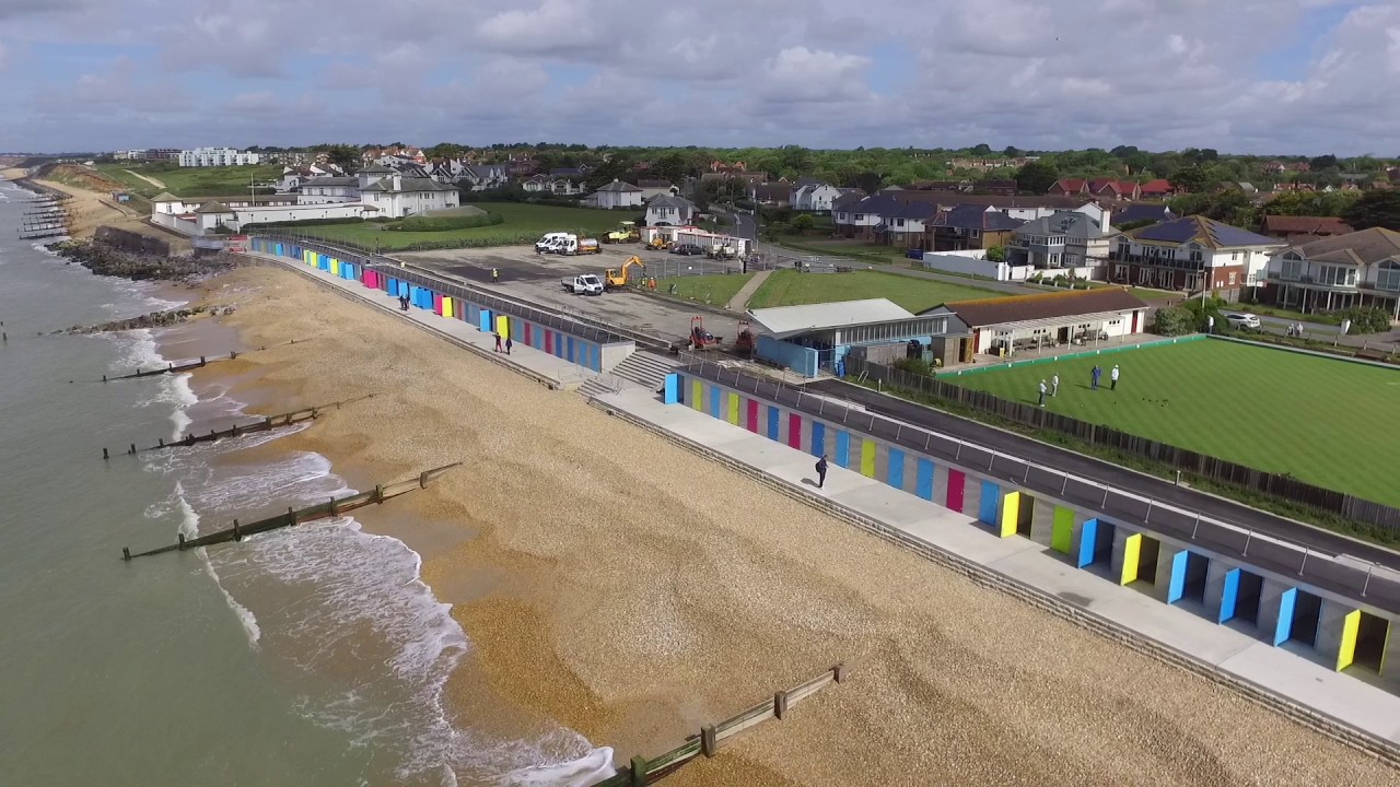 Ord On Sea Beach Huts Complete And