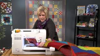Quilting with an Embroidery Machine, Part 2