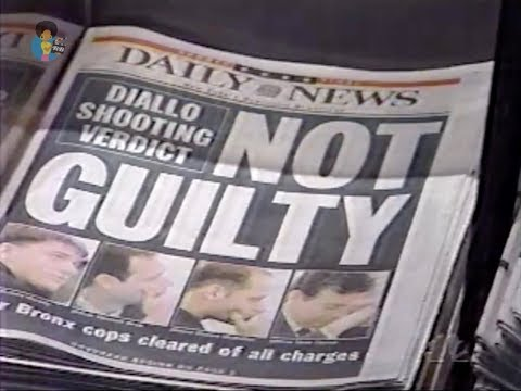 The Amadou Diallo Verdict (2/25/2000) | #AmadouDiallo #RIP
