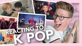 Baixar reacting to k-pop (exo, bts, blackpink, seventeen, holland & more!!)