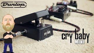 Dunlop Crybaby Mini Wah - Demo
