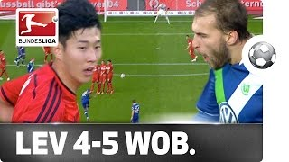 Video Gol Pertandingan Bayer Leverkusen vs Wolfsburg