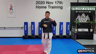 Sparring Home training